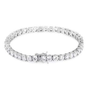 Braclet 14k White Gold 5A grade Cubic Stones
